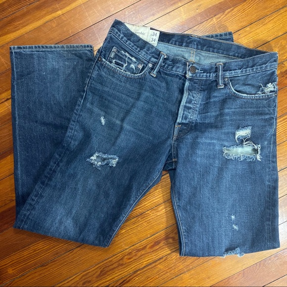 Abercrombie & Fitch Other - Abercrombie Men's Classic Straight Jeans 34 x 34